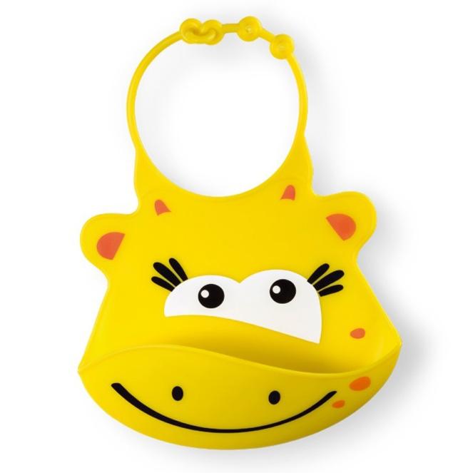 Babador para bebê Sillybib Girafa
